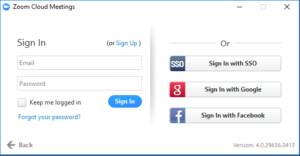 """Click """"Sign in with SSO"""""""