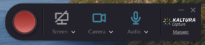 Greyed out icon with a line through it means that the input will not be captured
