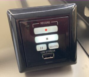 USB slot for USB stick or drive